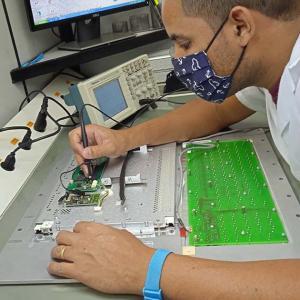 Manutenção corretiva e preventiva dos equipamentos
