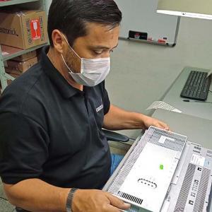 Manutenção equipamentos eletrônicos industriais